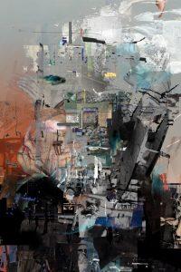aerodrome, Digitale Collage, Katrin Salentin, 2012