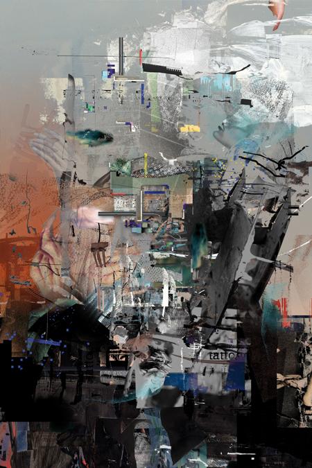 aerodrome, 2012, Digitale Collage, 60×40 cm
