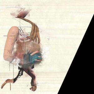 Im Gehen blüht er auf, 2010, Digitale Collage, 60×80 cm