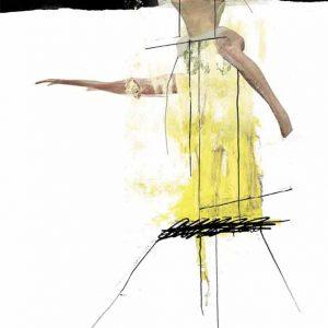 Katrin Salentin, Yogafrau, 2010, Digitale Collage, 70×50