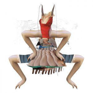 Katrin Salentin, Sensing Element, 2010, Digitale Collage, 70×70 cm