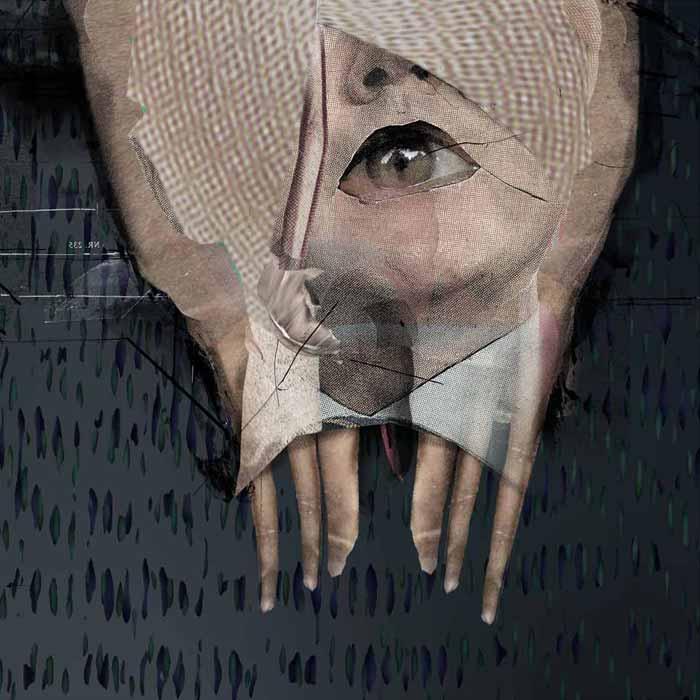 Orbiter, 2010, Digitale Collage, 60×60 cm