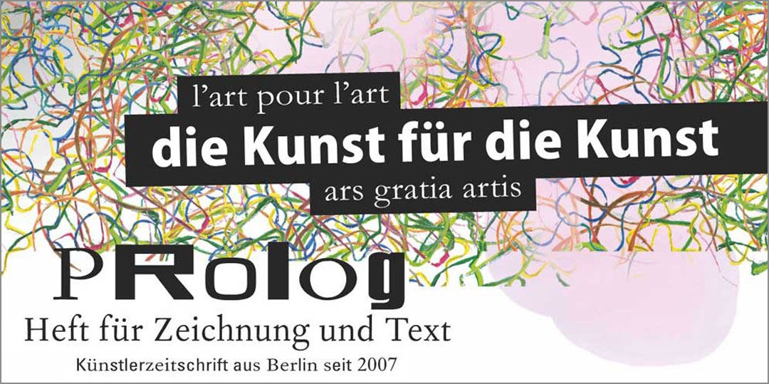 Prolog X8: die kunst für die kunst