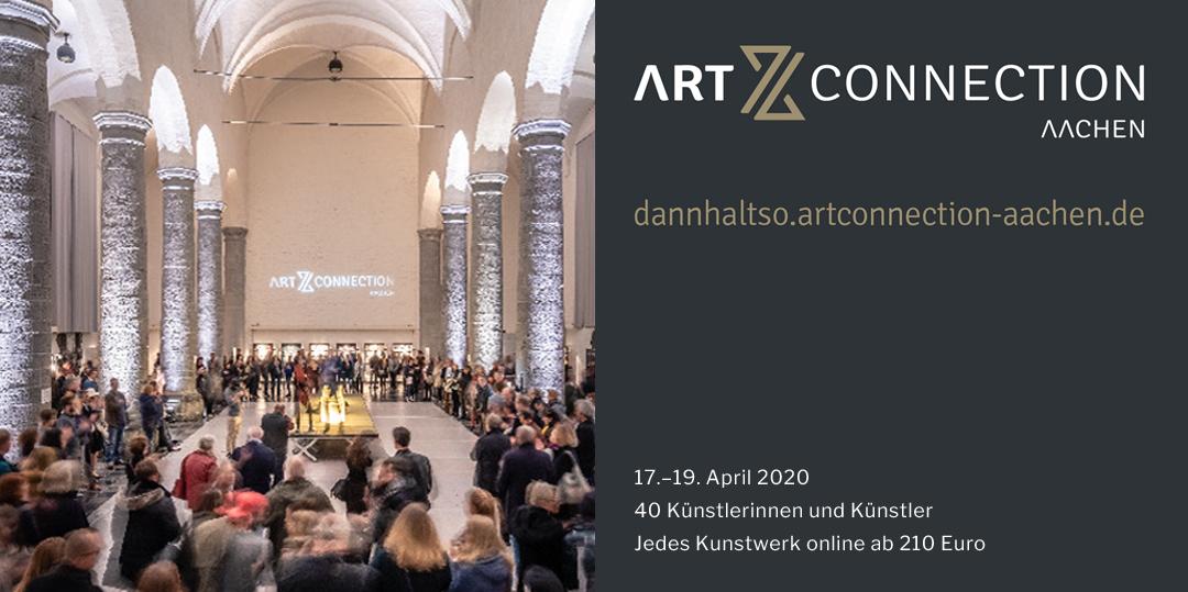 Artconnection Aachen 2020 – Digitaler Kunstmarkt und guter Zweck